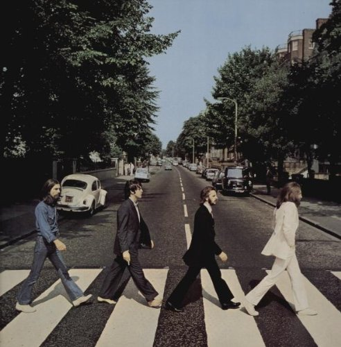 Original album cover of Abbey Road by Beatles