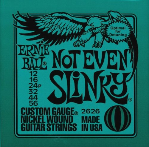 Ernie Ball 2626 Not Even Slinky Custom Gauge