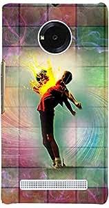 PRINTVISA Music Dance Pattern Case Cover For YU Yuphoria