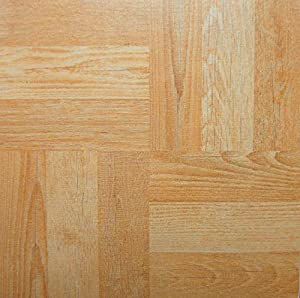 30 Vinyl Floor Self Adhesive Durable Tiles Wood Square Feature For DIY Home Shop Office School Applications