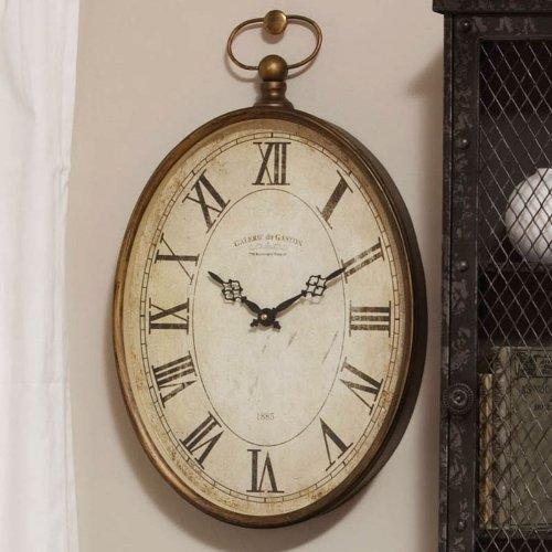 Cape Craftsmen Vintage Oval Clock 20