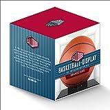 NBA Ball Qube Grandstand Basketball Display with Black Base