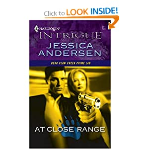 At Close Range (Harlequin Large Print Intrigue) Jessica Andersen