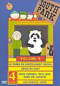 South Park : Saison 3 (Vol.9) : Le Panda du harcèlement sexuel / Orgie de chat / Deux hommes tout nus dans un jacuzzi / Les scouts juifs