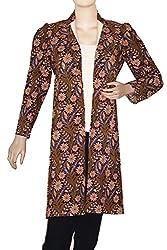 IndiaVillage Cotton Long Coats for Women/Blazer/Jacket