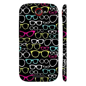 HTC ONE S Nerdy Or Cool designer mobile hard shell case by Enthopia