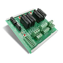 Opto 22 SNAP-TEX-MR10-4 - 4-Point Breakout Board with Mechanical Relays for SNAP Digital 4-Channel Output Modules
