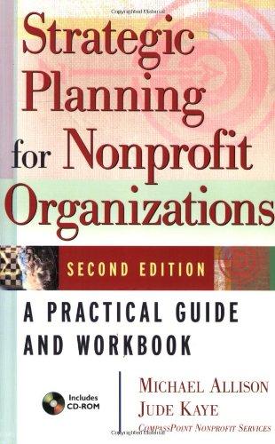 Strategic Planning for Nonprofit Organizations: A...