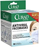 Curad Antiviral Face Mask, 10 Count