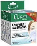 Curad Biomask Antiviral FaceMasks, 10...