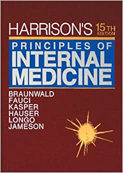 Harrison's Principles of Internal Medicine 19th edition (2015) volumes 1 and 2