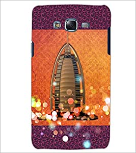 PrintDhaba Ship Building D-4832 Back Case Cover for SAMSUNG GALAXY J5 (Multi-Coloured)