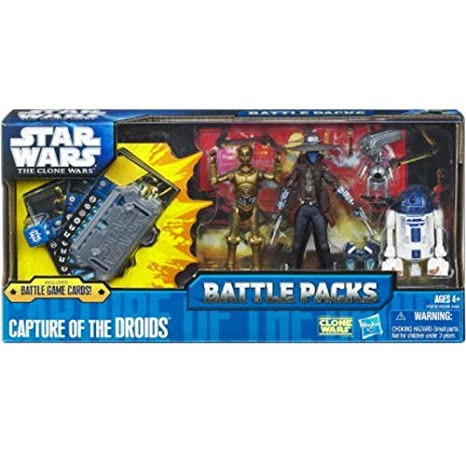 STAR WARS THE CLONE WARS : BATTLE PACKS CAPTURE OF THE DROIDS