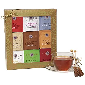 Gold Leaf Decaf Teas Gift Box