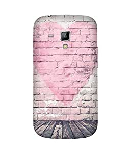 Pink Heart Samsung Galaxy S Duos S7562 Case