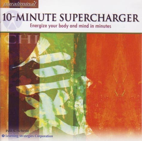 10 Minute Supercharger - Paraliminal CD