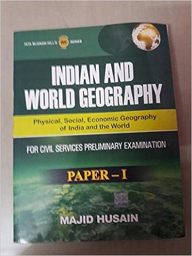 Indian and World Geography (Paper-1) 1st Edition price comparison at Flipkart, Amazon, Crossword, Uread, Bookadda, Landmark, Homeshop18