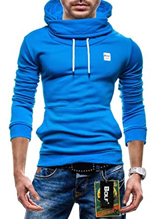 BOLF - Sweat à capuche - BOLF 39 - Homme - XXL Turquoise [1A1]