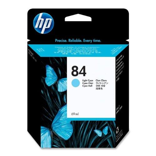 HP N°84 Cartouche d'encre d'origine Cyan clair C5017A