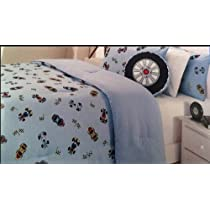 Hillcrest Racecar Full/Queen Comforter Set