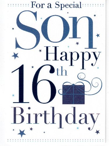 Birthday Gifts For 16 Year Old Boy Fresh 16th Cards Beautiful Of Boys Son Card