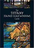 img - for Six Tiffany Stained Glass Windows Cards (Small-Format Card Books) book / textbook / text book