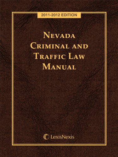 Nevada Criminal and Traffic Laws with CD-ROM