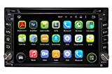 6.2 Zoll 2 Din Android 5.1.1 Lollipop OS Autoradio für Nissan X trail 2001 2002 2003 2004 2005 2006 2007 2008 2009 2011, kapazitiver Touchscreen mit Quad Core 1.6G Cortex A9 CPU 16G Flash und 1G DDR3 RAM GPS Navi Radio DVD Player 3G/WIFI Aux Input OBD2 USB/SD IPOD DVR
