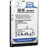 Western Digital 320 GB WD Blue SATA II 5400 RPM 8 MB Cache Bulk/OEM Notebook Hard Drive