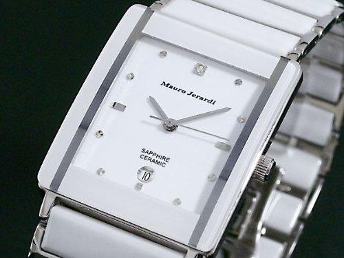 マウロ・ジェラルディ [セラミック・ダイヤ・サファイアガラス] 腕時計 メンズ MJ3080-3