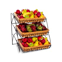 3 Basket Wire Display Rack for Tabletop Use