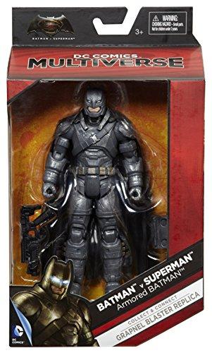 "Batman v Superman: Dawn of Justice Multiverse 6"" Batman Armor Figure at Gotham City Store"