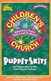 img - for Children's Church Puppet Skits: Cool Puppet Skits for the Park Patrol to Perform (Noah's Park Children's Church) book / textbook / text book