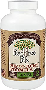 Glucosamine Chondroitin for Dogs - Hip and Joint Formula Level 2 - 70 Chewable Tablets