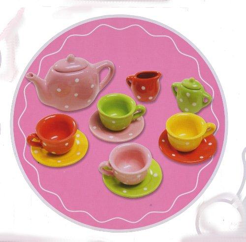 Delicious Boutique Porcelain Polka Dots Tea Set