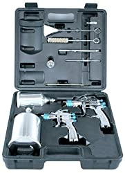 DEVILBISS - 2 GUN SPRAY GUN KIT 802342 - StartingLine HVLP Gravity Spray Gun Kit