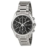 Seiko Men's SSC001 Alarm Chronograph Watch from Seiko