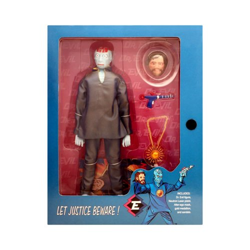 Captain Action Limited Edition Dr. Evil 12 inch Action Figure