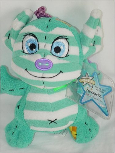 Neopets Series 1 Plushie Myncie w/ Key Quest Code - 1