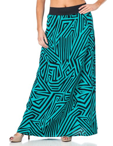 Fitted Maxi Skirt front-1053997