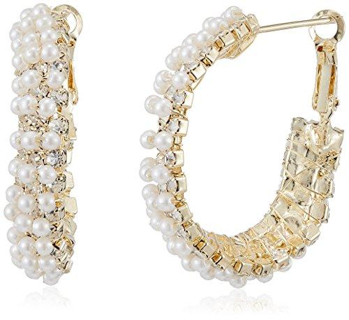 Ava Traditional Pearl Bali for Women (E-VS-1679) (Gold)