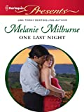img - for One Last Night (Harlequin Presents) book / textbook / text book