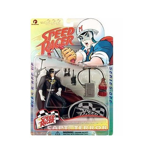 Speed Racer Series 1 > Captain Terror Action Figure - 1