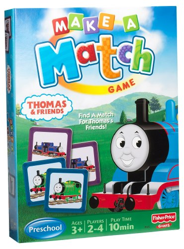 Thomas & Friends Make-A-Match Game - 1