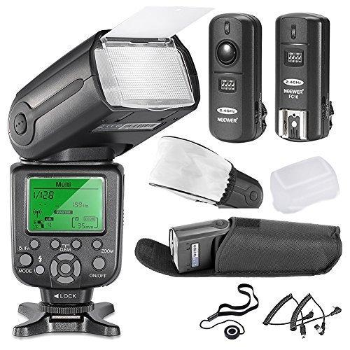 Neewer-5500K-24G-Wireless-Pro-Speedlite-NW-TT660-II-Deluxe-Kit-for-Nikon-D7100-D7000-D5300-D5200-D5100-D5000-D3200-D3100-D3300-D90-D800-D700-D300-D300S-D610-D600-D4-D3S-D3X-D3-D200-N90S-F5-F6-F100-F90