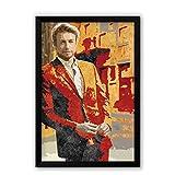PosterGuy Simon Baker | The Mentalist TV Series Inspired Fan Art Laminated Framed Poster