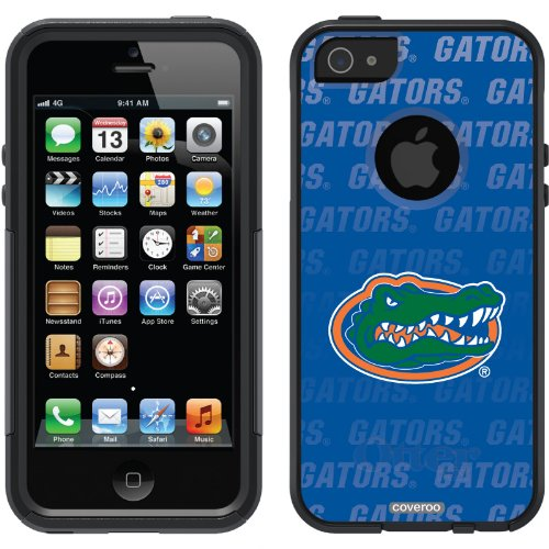 Great Sale University of Florida - Repeating design on a Black OtterBox® Commuter Series® Case for iPhone 5s / 5
