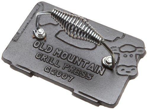 """Old Mountain, gebrauchsfertig eingebranntem 10151 Kuh """"Bacon/Grill/7"""" Presse von 4-1/2 Zoll von Old Mountain kaufen"""