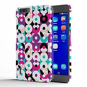 Koveru Back Cover Case for Huawei Honor 6Plus - Geometric