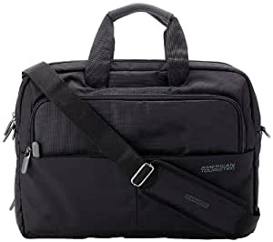 American tourister speed nylon 13 ltrs black laptop briefcase 23z 0 09 010 bags - American tourister office bags ...
